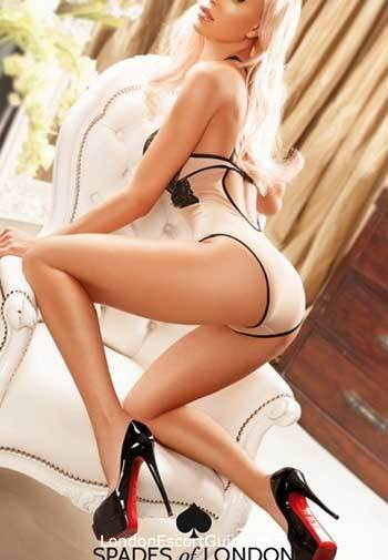 Knightsbridge blonde Kylie london escort