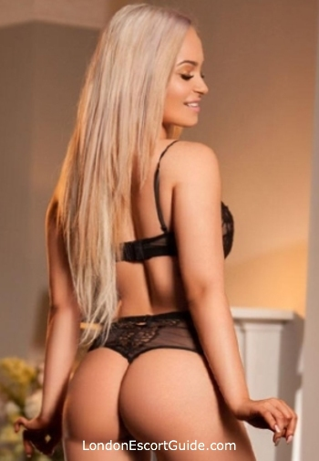South Kensington blonde Beverly london escort
