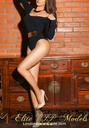 Knightsbridge brunette Arina london escort