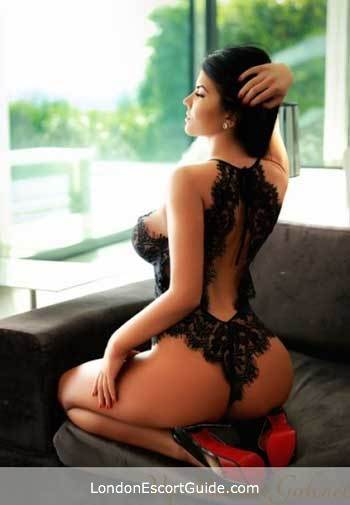 Chelsea brunette Nadira london escort