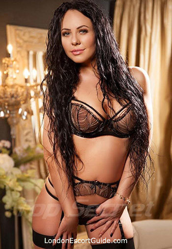 South Kensington brunette Amira london escort