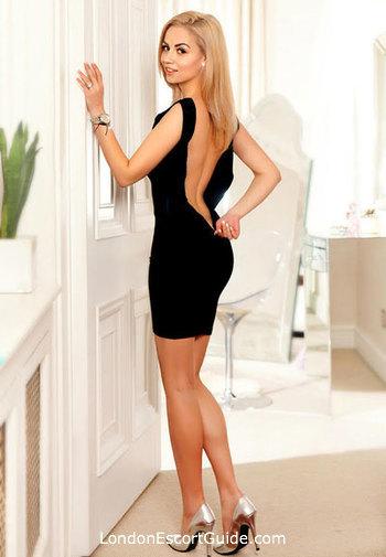 South Kensington blonde Defne london escort