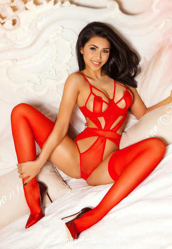South Kensington brunette Meta london escort