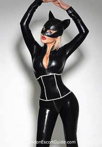 South Kensington pvc-latex Maya london escort