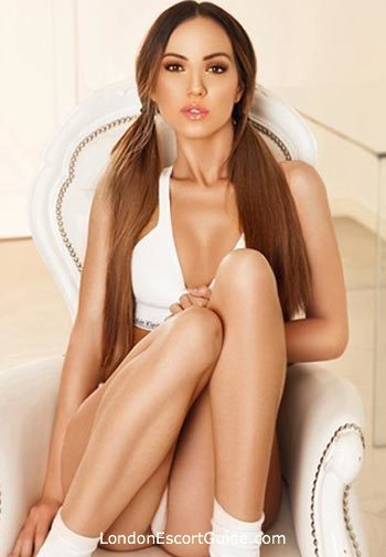 Lancaster Gate brunette Bella Donna london escort