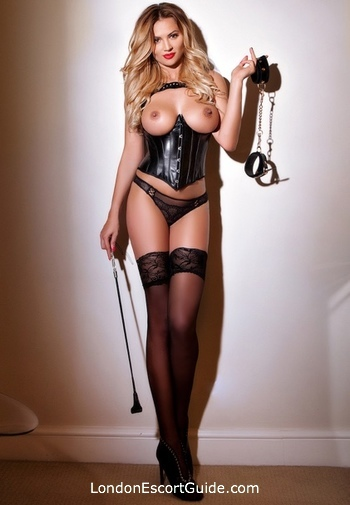 Paddington blonde Mistress Zuza london escort