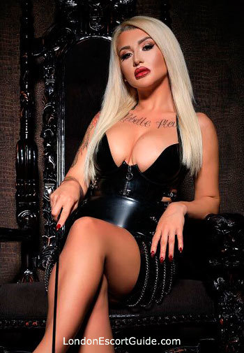 Kensington Olympia blonde Georgina london escort