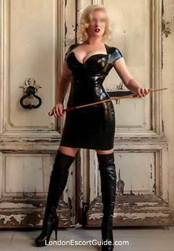 Marylebone pvc-latex Anabel london escort