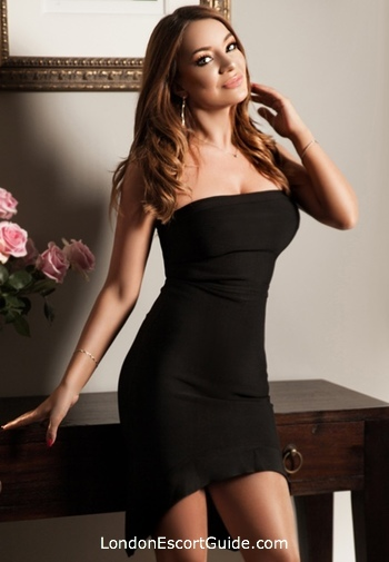 Baker Street brunette Deborah london escort