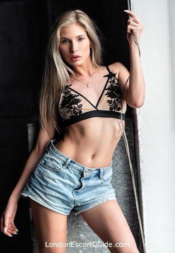Kensington blonde Nellya london escort