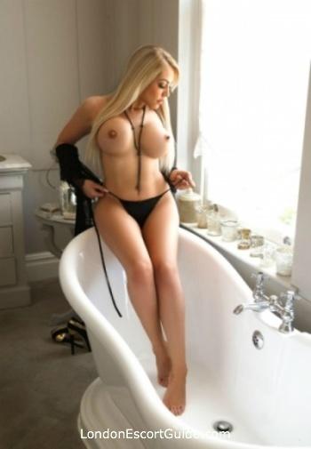 Marylebone blonde Mistress Liliana london escort