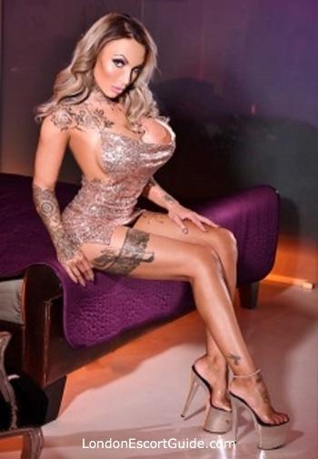 Paddington blonde Brooke Jameson london escort
