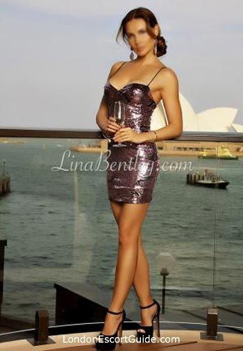 Central London blonde Lina Bentley london escort