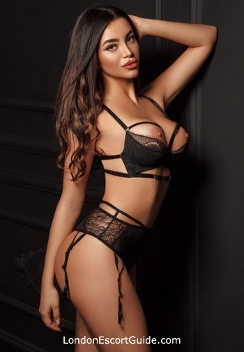 The City brunette Gladys london escort
