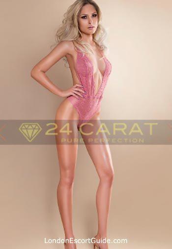 Knightsbridge blonde Kat london escort