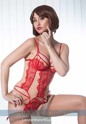 South Kensington brunette Kennedy london escort