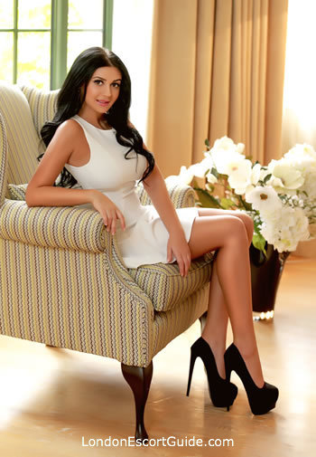 South Kensington brunette Ally london escort