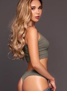Belgravia blonde Ebba london escort